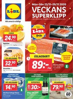 Matbutiker erbjudanden i Lidl katalogen i Lidköping ( 2 dagar kvar )