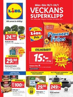 Matbutiker erbjudanden i Lidl katalogen i Skellefteå ( Går ut idag )
