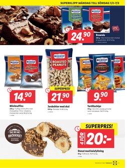Erbjudanden i kategorin Choklad i Lidl