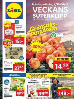 Erbjudanden från Matbutiker i Lidl ( Publicerades idag)