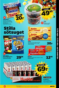 Cloetta erbjudanden i Netto katalogen i Stockholm