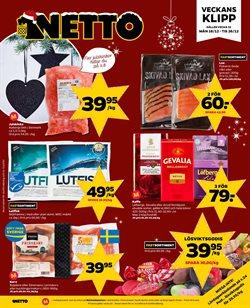 Matbutiker erbjudanden i Netto katalogen i Åkersberga