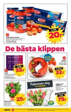 Blomma erbjudanden i Netto katalogen i Stockholm