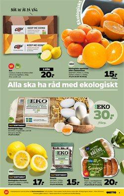 Julgran erbjudanden i Netto katalogen i Stockholm
