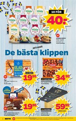 Ost erbjudanden i Netto katalogen i Mariestad