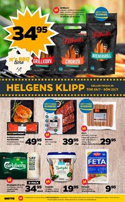 Glass erbjudanden i Netto katalogen i Köping