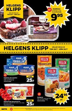 Pasta erbjudanden i Netto katalogen i Stockholm