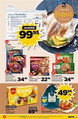 Pizza erbjudanden i Netto katalogen i Köping