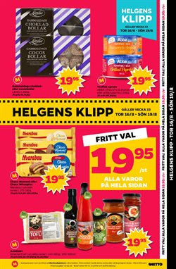Såser erbjudanden i Netto katalogen i Stockholm