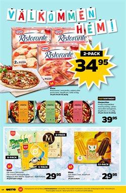 Pizza erbjudanden i Netto katalogen i Nacka