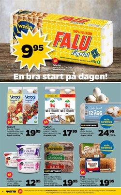 Yoghurt erbjudanden i Netto katalogen i Stockholm
