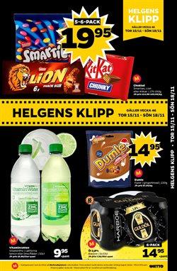 Godis erbjudanden i Netto katalogen i Stockholm