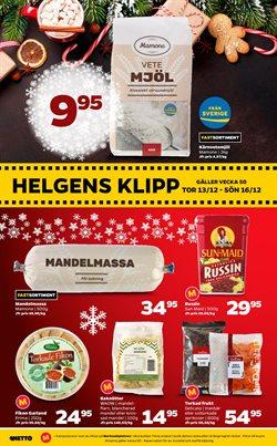 Jul erbjudanden i Netto katalogen i Åkersberga