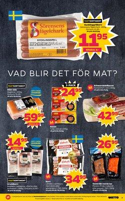 Fisk erbjudanden i Netto katalogen i Stockholm
