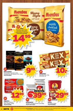 Chokladkakor erbjudanden i Netto katalogen i Stockholm