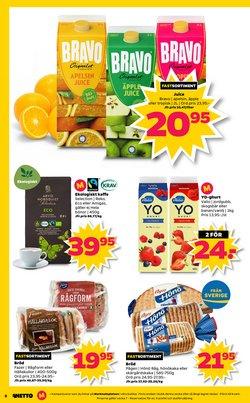 Yoghurt erbjudanden i Netto katalogen i Göteborg