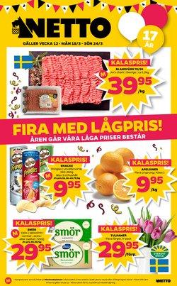 Matbutiker erbjudanden i Netto katalogen i Stockholm