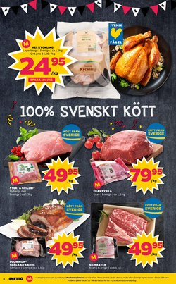 Kycklingfilé erbjudanden i Netto katalogen i Stockholm