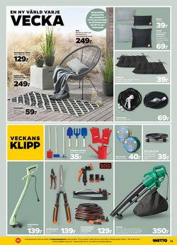 Möbler erbjudanden i Netto katalogen i Köping