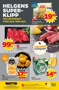 Matbutiker erbjudanden i Netto katalogen i Helsingborg