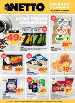 Matbutiker erbjudanden i Netto katalogen i Katrineholm ( Går ut imorgon )