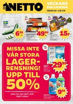 Matbutiker erbjudanden i Netto katalogen i Solna ( 3 dagar kvar )