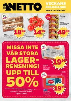 Matbutiker erbjudanden i Netto katalogen i Håbo ( 2 dagar sedan )