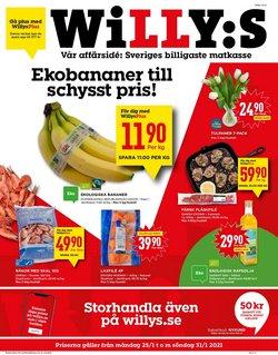 Matbutiker erbjudanden i Willys katalogen i Kungälv ( 2 dagar sedan )