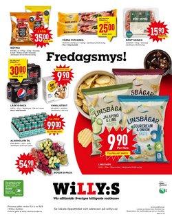 Erbjudanden från Matbutiker i Willys ( 3 dagar kvar )