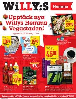 Erbjudanden från Matbutiker i Willys ( Publicerades idag)
