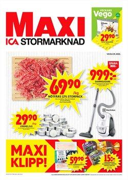 Matbutiker erbjudanden i ICA Maxi katalogen i Skellefteå ( Går ut imorgon )