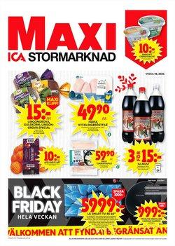 Matbutiker erbjudanden i ICA Maxi katalogen i Trelleborg ( Går ut imorgon )