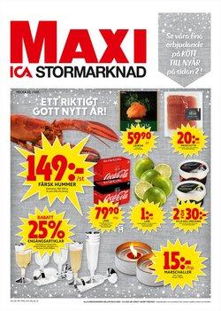 ICA Maxi-katalog i Stockholm ( Har gått ut )