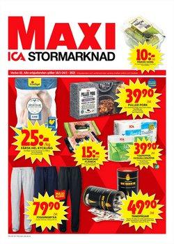 Matbutiker erbjudanden i ICA Maxi katalogen i Skellefteå ( Går ut idag )
