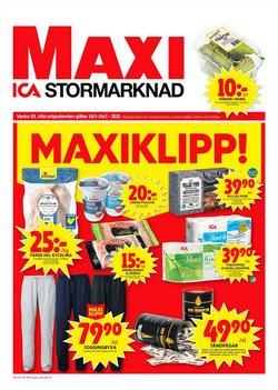 ICA Maxi-katalog ( Publicerades igår )