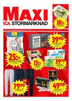 ICA Maxi-katalog i Stockholm ( Går ut idag )