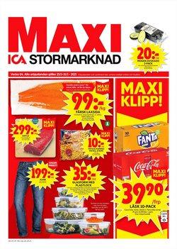 Matbutiker erbjudanden i ICA Maxi katalogen i Kungälv ( 2 dagar sedan )
