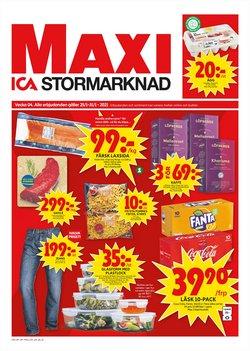 Erbjudanden från Matbutiker i ICA Maxi ( Publicerades igår )