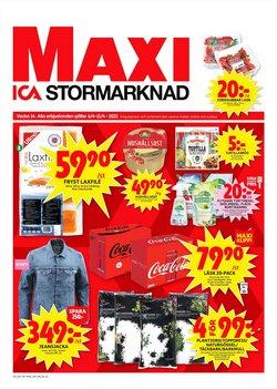 Erbjudanden från säsong i ICA Maxi ( Går ut idag)