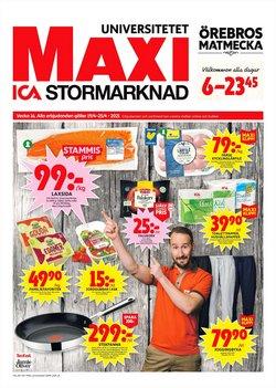 Matbutiker erbjudanden i ICA Maxi katalogen i Örebro ( Publicerades igår )