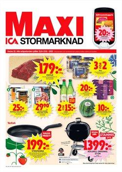 Erbjudanden från Matbutiker i ICA Maxi ( Publicerades idag)