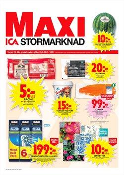 Erbjudanden från ICA Maxi i ICA Maxi ( Går ut idag)