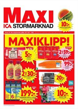 Erbjudanden från Matbutiker i ICA Maxi ( Går ut imorgon)