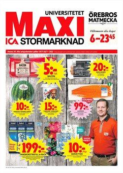 Erbjudanden från Matbutiker i ICA Maxi ( Går ut idag)
