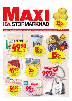 ICA Maxi-katalog ( Publicerades idag)