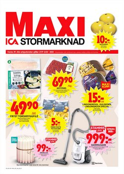 ICA Maxi-katalog ( Publicerades igår)