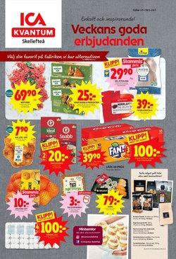 Matbutiker erbjudanden i ICA Kvantum katalogen i Skellefteå ( Går ut idag )