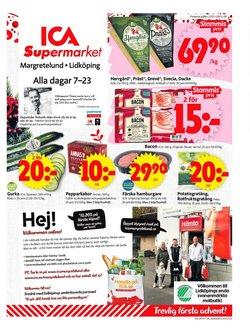 Matbutiker erbjudanden i ICA Supermarket katalogen i Lidköping ( 2 dagar kvar )