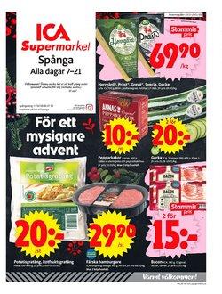 ICA Supermarket-katalog i Stockholm ( Går ut imorgon )