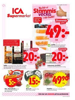 ICA Supermarket-katalog ( Går ut imorgon )